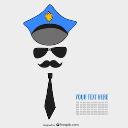 Plantilla de policía