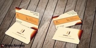 Plantilla de tarjeta de negocio de seguros psd