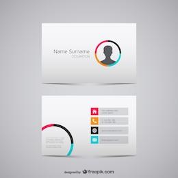 Plantilla de tarjeta de visita para negocios