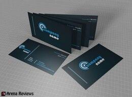 Plantilla de tarjeta de visita profesional oscuro