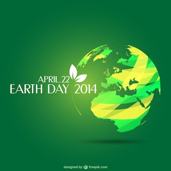 Plantilla del día de la Tierra