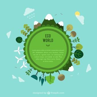 Plantilla mundo Eco