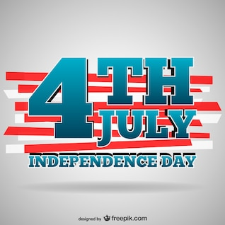 Plantilla para el Día de la Independencia