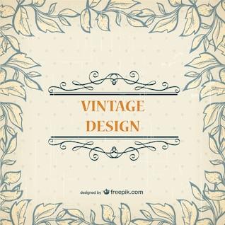 Plantilla vintage gratis