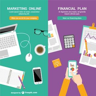 Plantillas de negocios en línea