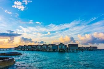 Playa laguna paisaje relajación mar