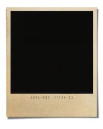 Polaroid plantilla de efectos de frontera psd rancio como plantilla de imagen PNG, y los archivos del sistema mac