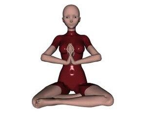 pose de yoga, el ejercicio