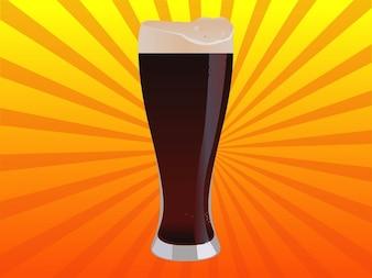 potable fría vector cerveza sin alcohol