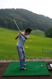 practicar el golf, el deporte humanos,
