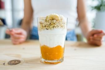 Preparación de alimentos casa bebida cereales