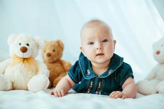 Primer del bebé cuerpo pequeño estudio