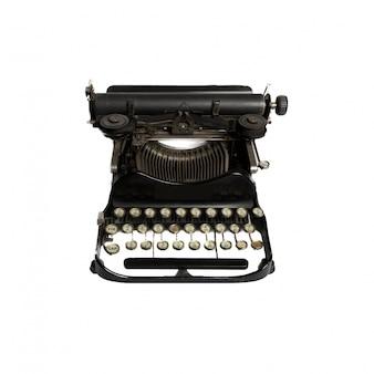 Primer plano de una máquina de escribir fantástica