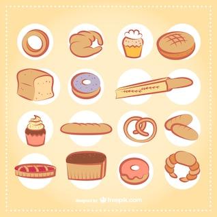 Productos de panadería paquete