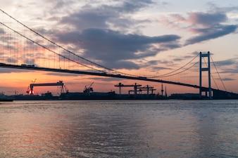 Puente Jiangyin Yangtze