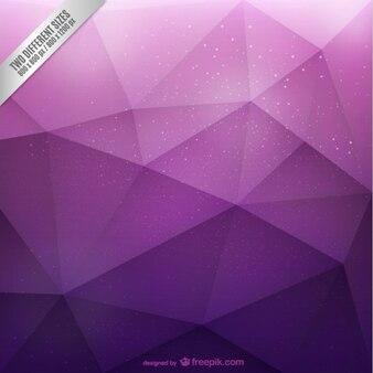 Fondo poligonal púrpura