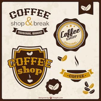 Stickers de calidad de café