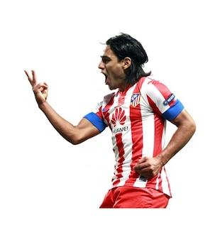 Radamel Falcao Atlético de Madrid La Liga