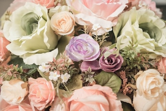 Ramo de flores de fondo