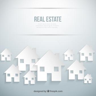 Fondo de las propiedades inmobiliarias