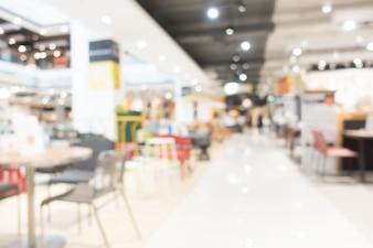 Resumen borrosa tienda de muebles y tienda interior