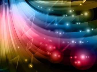resumen de antecedentes coloridos gráficos vectoriales