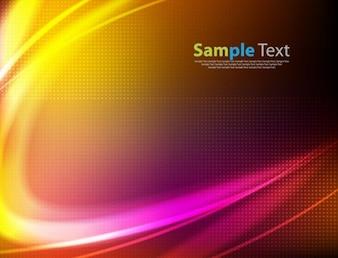 resumen de antecedentes vector de color