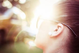 Resumen luz del sol y la niña