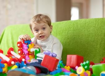 Retrato de niño de 3 años
