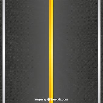 Plantilla vector de carretera
