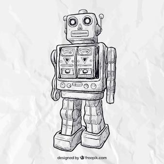 Robot esbozado