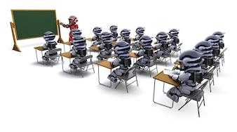 Robot maestro en el aula