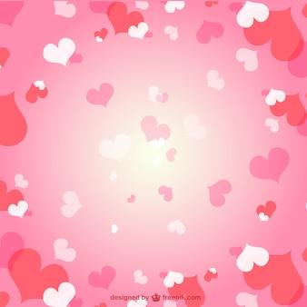 Fondo con corazones