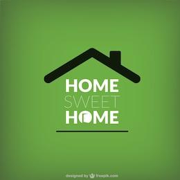 Rótulo de Hogar, dulce hogar