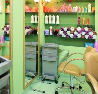 salón de belleza maquillaje