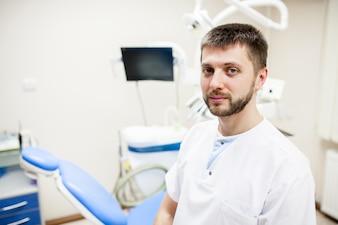 Saludable hospital sonrisa trabajo de fondo