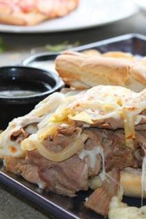 Sándwich de carne