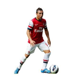 Santi cazorla Arsenal Premier League