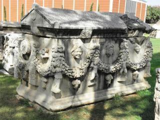 sarkofag antiguos de Perio griego o romano, sarkofag