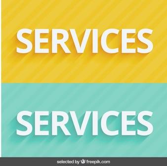 Servicios encabezados