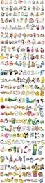 shinkichiro animales cifras vector de todos los días