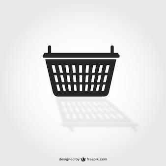 Símbolo de cesta de la compra
