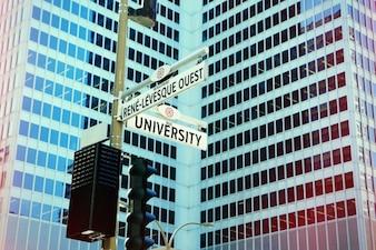 Siga la dirección correcta