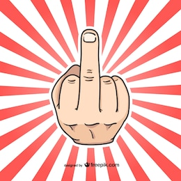 Signo con dedo anular