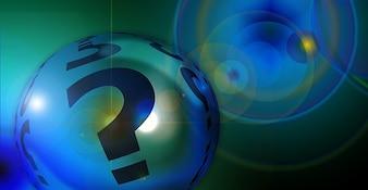 Signo de interrogación jabón exclamación bola del punto de burbuja