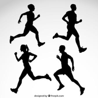 Siluetas Runner