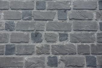 Muro de piedra de plata