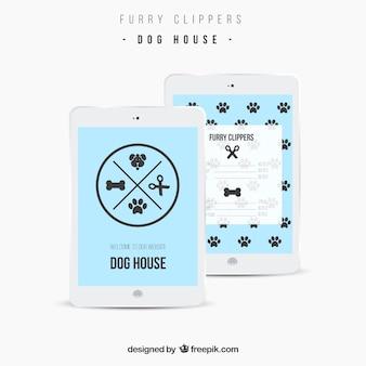 Sitio Web casa del perro