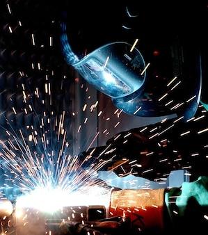 Soldador caliente metalurgia de soldadura soldadura de radio