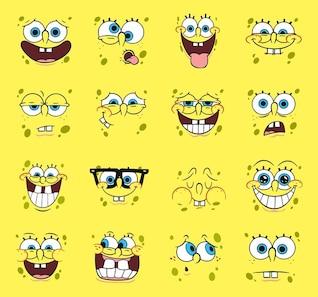 spongebob vector dibujos animados